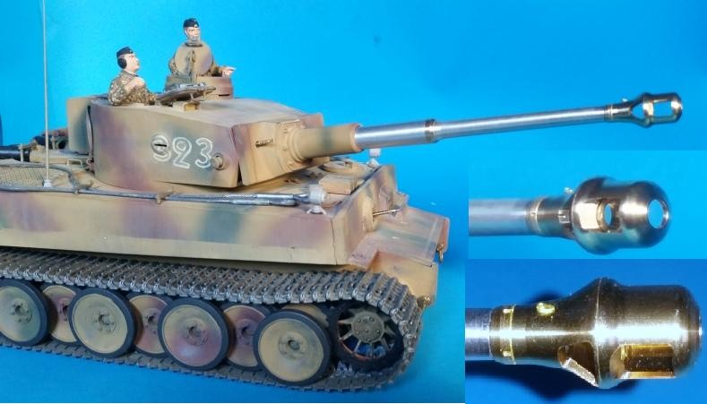 Aber 25L04 German 88mm KwK36L56 Tiger I early barrel