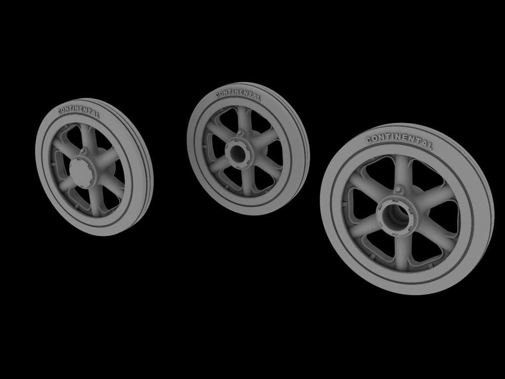 PHA-TR-25-038 Pz I road wheels