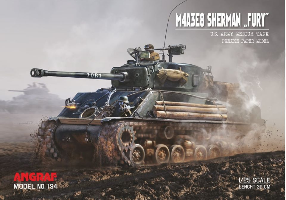 "Sherman M4A3E8 ""FURY"""