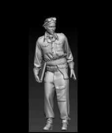 PHA-FIG-25-004 Polish officer, 1AD, Gen.Maczek