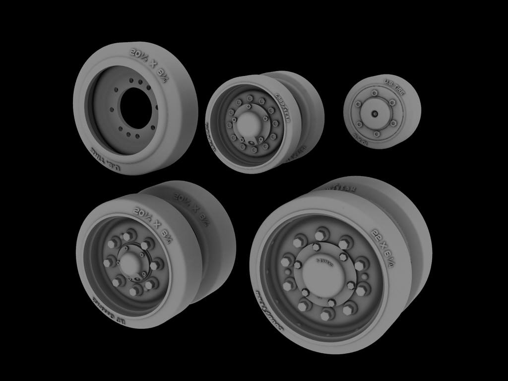 PHA-WH-25-077 Sherman road wheels HVSS ver3