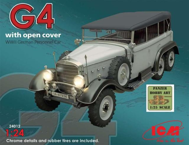 Daimler Benz Typ G4 with open cover